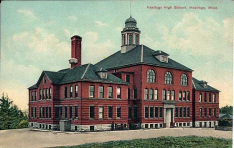 Hastings High School, Hastings Minnesota, 1910