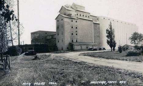 King Midas Mill, Hastings Minnesota, 1920's