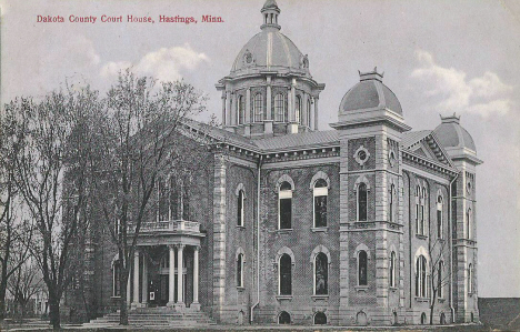 Dakota County Courthouse, Hastings Minnesota, 1914
