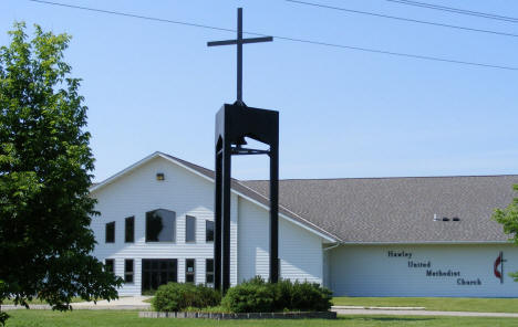 Hawley United Methodist Church, Hawley Minnesota, 2008