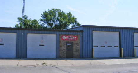 Hawley Area Fire Department, Hawley Minnesota, 2008