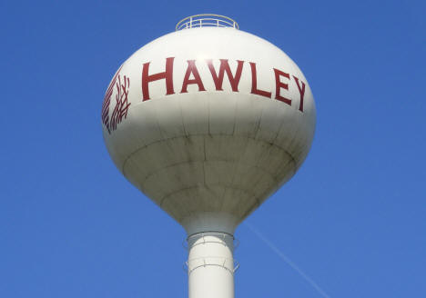 Water Tower, Hawley Minnesota, 2008