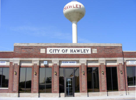 City Hall, Hawley Minnesota, 2008