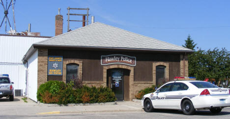 Police Department, Hawley Minnesota, 2008