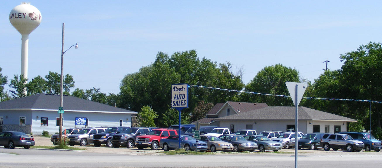 Lloyds Auto Sales >> Guide to Hawley Minnesota
