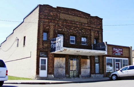 Old Garrick Theatre, Hawley Minnesota, 2008
