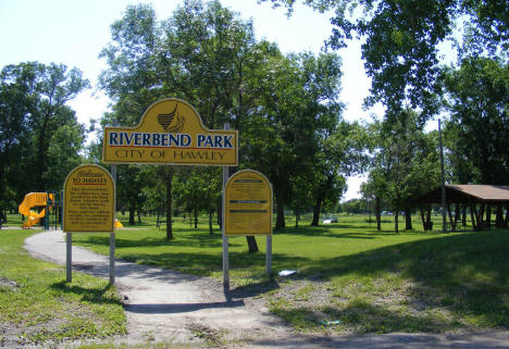 Riverbend Park, Hawley Minnesota, 2008