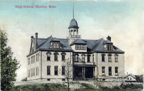 High School, Hawley Minnesota, 1908