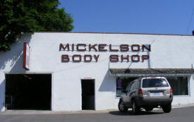 Mickelson Body Shop, Hawley Minnesota