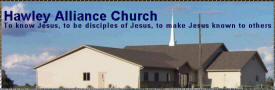 Hawley Alliance Church, Hawley Minnesota