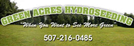 Green Acres Hydroseeding, Hayfield Minnesota