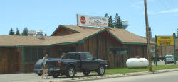 Barney's Headwaters Restaurant, Akeley Minnesota