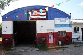 Stars & Stripes Garage, Heidelburg Minnesota