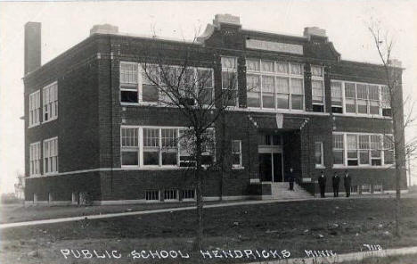 Public School, Hendricks Minnesota, 1940's?