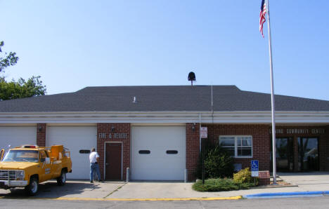 City Hall, Police and Fire Station, Henning Minnesota, 2008