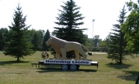 City Park and Henning Lions trailer, 2008