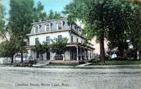 Chapman House, Heron Lake Minnesota, 1910