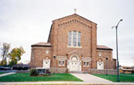 Blessed Sacrament Catholic Church, Hibbing Minnesota