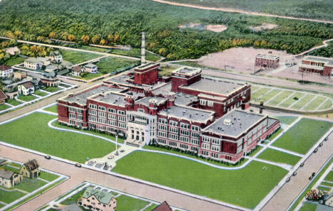 Hibbing High School, Hibbing Minnesota, 1940
