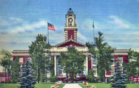 City Hall, Hibbing Minnesota, 1953
