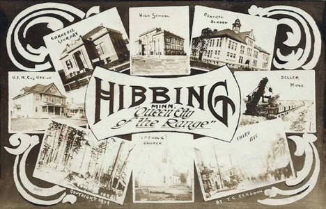 Multiple views, Hibbing Minnesota, 1909