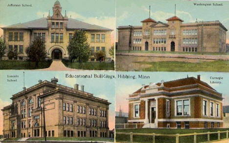 Educational Buildings, Hibbing Minnesota, 1918