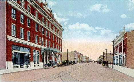 Howard Street, Hibbing Minnesota, 1920's