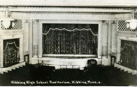 Hibbing High School Auditorium, Hibbing Minnesota, 1920's