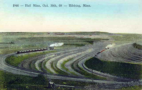 Hull Mine, Hibbing Minnesota, 1908