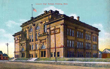 Lincoln High School, Hibbing Minnesota, 1910