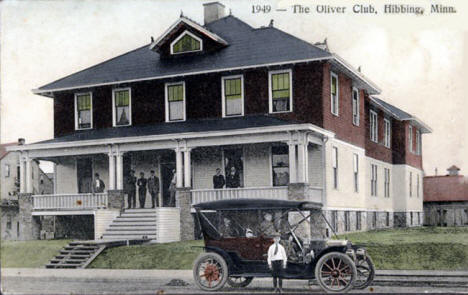 The Oliver Club, Hibbing Minnesota, 1920's