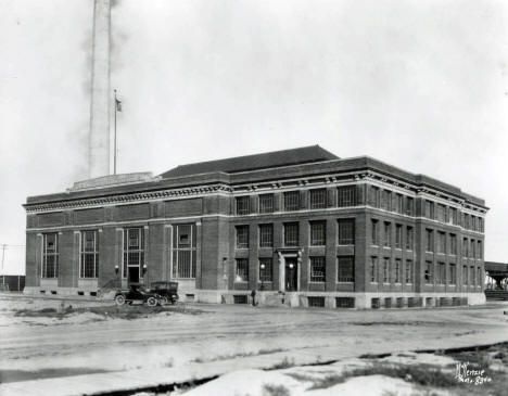Municipal Power Plant building, Hibbing Minnesota, 1921