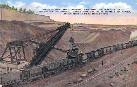 Burt-Pool Mine, Hibbing Minnesota, 1910