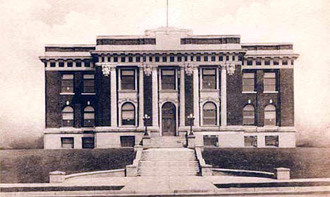 St. Louis County Court House, Hibbing Minnesota, 1910