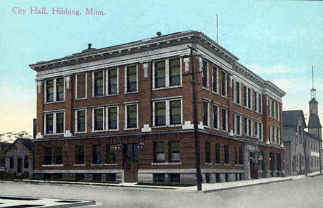 City Hall, Hibbing Minnesota, 1910