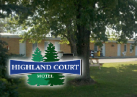 Highland Court Motel, Fairmont Minnesota