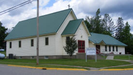 Trinity Lutheran Church, Hill City Minnesota