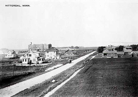 General view, Hitterdal Minnesota, 1915