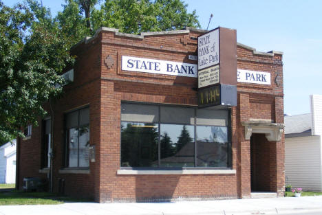 State Bank of Lake Park, Hitterdal Minnesota, 2008