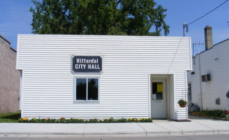 City Hall, Hitterdal Minnesota, 2008