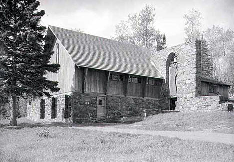 Lutheran Church near Hovland Minnesota, 1959