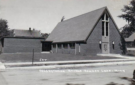 Presbyterian Church, Howard Lake Minnesota, 1950's