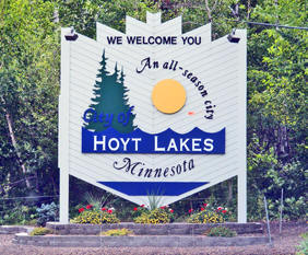 Welcome to Hoyt Lakes Minnesota