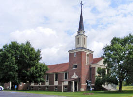 Queen of Peace Church, Hoyt Lakes Minnesota