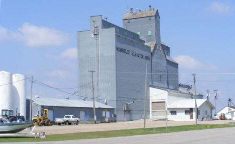Grain Elevator at Humboldt Minnesota, 2008