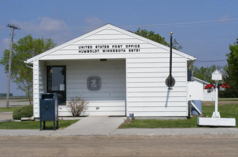 US Post Office, Humboldt Minnesota, 2008