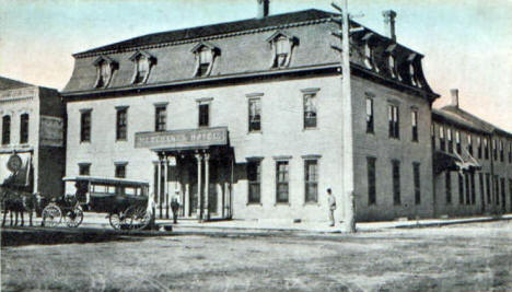 Merchants Hotel, Hutchinson Minnesota, 1911
