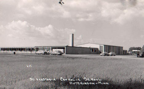 St. Anastasia Catholic School, Hutchinson Minnesota, 1950's?