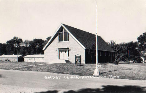 Baptist Church, Hutchinson Minnesota, 1950's?