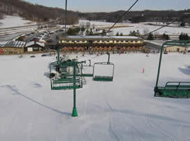 Mount Kato Ski Area, Mankato Minnesota